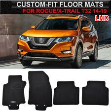 4pcs For Nissan Rogue X-Trail T32 14-19 Floor Mats Liner Nylon Carpets