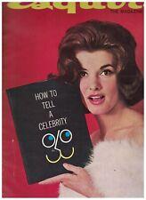 Esquire Magazine June 1961 Winston Churchill Phil Hill Nancy Kovack