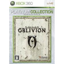 Used Xbox360 The Elder Scrolls IV: Oblivion Platinum Collection Japan Import