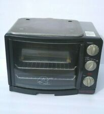 GEORGE FOREMAN 8-IN ONE TOASTER OVEN/BROILER MODEL# GRV660 (GUC, Tested)