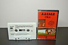 J.J. Cale Okie CAM68261 Paper Labels Original Music Cassette Tape