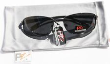 PZ Rectangle Polarized Sunglasses Aluminum Fishing BLK1
