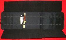 Vinyl Knife Storage Folding Case holds (36) Knives...Buy It Now!!!