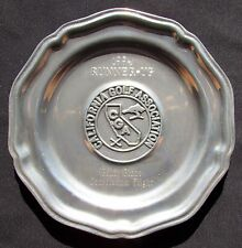 1994 California Golf Association Award Plate - Pacific Grove - Point Pinos, Ca
