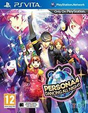 Persona 4 Dancing All Night PS Vita Game Sony PlayStation