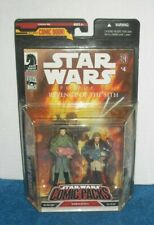 NEW 2008 Hasbro Star Wars Comic Packs: Obi-Wan Kenobi & Bail Organa (ROTS #4)