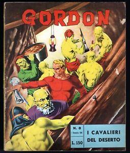 Flash Gordon #8 Nov 7, 1964 Opera Mundi Italian Alex Raymond Flash Gordon Mag