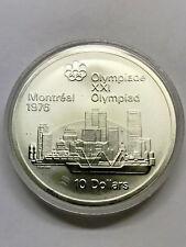 1973 Montreal 1976 Olympics Skyline Silver #589