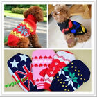Hot Sale Cute Puppy Pet Cat Dog Sweater Knitwear Coat Apparel Clothes 6 Sizes