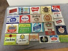 Vintage California & Others Beer Labels Lot of 23