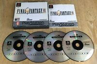 Final Fantasy IX (9) For Sony Playstation 1 PSOne PS1 Boxed With Manual