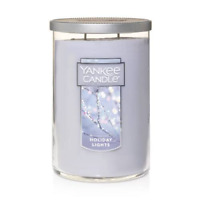 ☆☆HOLIDAY LIGHTS☆YANKEE CANDLE LARGE TUMBLER & FREE SHIPPING☆ CHRISTMAS SCENT