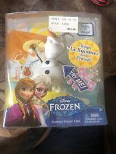 "NEW Disney Frozen Summer Singin' Singing Olaf Doll ~ Talks & Sings ""In Summer"""