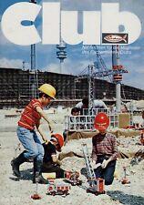 Fischer Technik Club Nachrichten 1971 7/71 Fischertechnik Thomas Edison Olympia