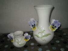 Göbel Vase Stiefmütterchen