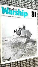 PROFILE WARSHIP #31: GERMAN SCHNELLBOOTE (E-BOATS) (1973)