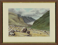 Chic D. Jack - Signed Mid 20th Century Watercolour, The Pass of Llanberis