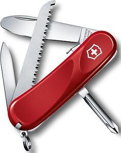 Victorinox Swiss Army Knife Junior 9 Red 85 mm Multi-tool 2.4213.SKEUS2 *NEW*