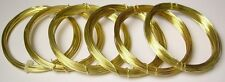 RED BRASS WIRE 6 ASSORTED 1/2 OZ EACH OF 16/18/20/22/24/26 GA  SOFT