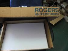 1x ROGERS RO4350B-0600-.5E-.5E-12X18 Laminates RF HI FREQ. Circuit Material PCB