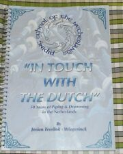 In Touch with Dutch drumming drum pipe highland Bagpipes Music Book Netherlands