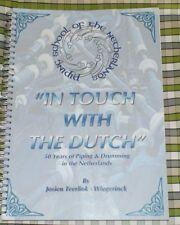 En contacto con el neerlandés baterista Tambor Tubo Highland Gaita Música Libro Países Bajos