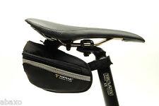 Topeak Wedge Pack II Small Bicycle Bag Saddle Bag Fixie Road Bike w/ Rain Cover