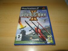 PRIMA GUERRA MONDIALE Aces of the Sky - Playstation 2 PS2 - NUOVO E SIGILLATO