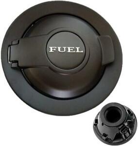 Fuel Filler Gas Cap Cover 68250120AA For 2008-2017 Dodge Challenger Matte Black