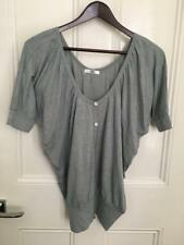 Grey Bat Wing Top by ValleyGirl Size: XS