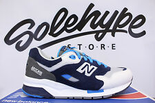 NEW BALANCE CM1600CO MECHA GREY BLUE BLACK WHITE SZ 8.5