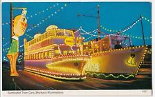 Illuminated Tram Ca, Blackpool Illuminations PPC by Bamforths, 1986 PMK