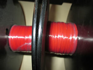 2 spools Belden 83001 Thermax SPC Silver Wire, 300ft total, 28awg, Red,