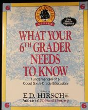 Core Knowledge What your 6th Grader Needs To Know Home school education