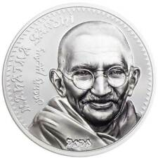 REVOLUTIONARIES: MAHATMA GANDHI 2020 Mongolia 1oz proof silver coin