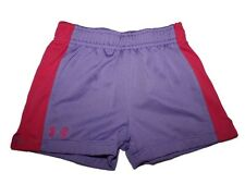 Girl Under Armour Purple Net Athletic Shorts Size 4