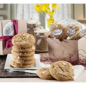 Dulcet Gift Baskets Fresh Baked Cranberry White Chip Cookie Gift Box