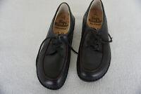 FINN COMFORT Berlin Damen Schuhe Schnürschuhe Einlagen Gr.40 Schwarz Leder NEU