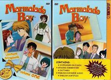 Marmalade Boy Vol 1 New Anime DVD Box Set (Scratched On The UPC Code)