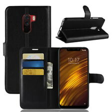 Shockproof Magnetic PU Leather Wallet Flip Case Cover for Xiaomi Pocophone F1