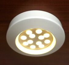 # MARINE BOAT LED CEILING LIGHT WARM WHITE CABIN INTERIOR .9W ONLY 12 LED BULBS