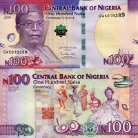 NIGERIA 100 NAIRA 2019 P-41 WITH QR CODE UNC-NEW