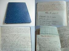 Handschrift Süd-Baden um 1830: REZEPTE aus reichem Haushalt / Seide, Backen...