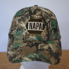 NAPA Larry Csonka Signature Series 100% Cotton Camo Hunting Baseball Cap Hat