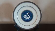 Mikasa Christmas Eve Luncheon Plate 12 Days of Christmas Center Swans a Swanning