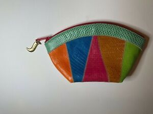 Vintage SHARIF small purse handbag multicolor