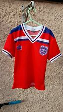 Vintage Admiral boys 3 to 5 years England 1982 World Cup shirt