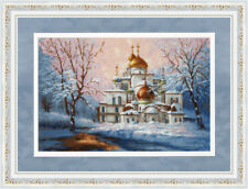 Counted cross stitch kit Cathedral Of The New Jerusalem Monastery Golden Fleece