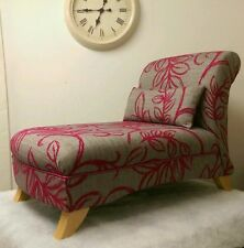Fabric Bedroom Chaises Longues