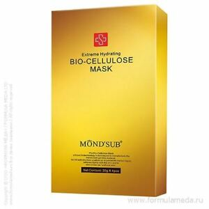 Mond'Sub Extreme Hydrating Bio-Cellulose Luxury Mask 4-Pack Genuine